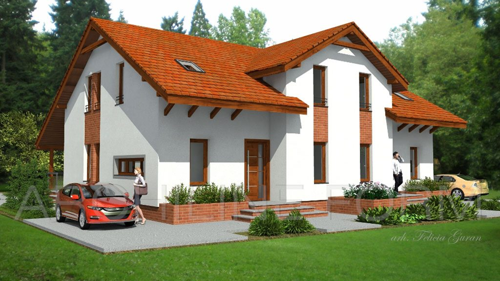 Casa cuplata Claudiu